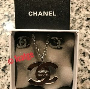 Chanel Necklace and Earrings Set😘😘😘